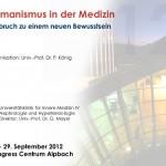 [Arzt und Event] Prof. Paul König – Humanismus-Tagung